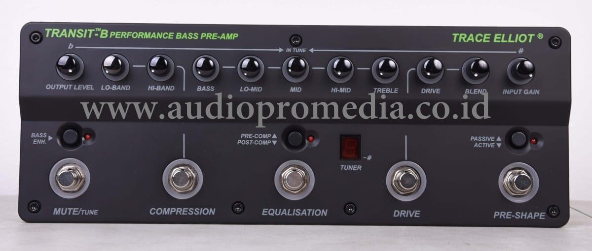 TRACE ELLIOT TRANSIT-B BASS PRE-AMP