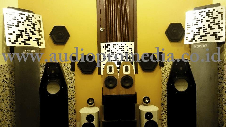 PENGARUH AKUSTIK RUANGAN DALAM REPRODUKSI SUARA (HOME AUDIO)