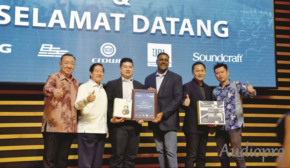 HARMAN GANDENG PT IMS SEBAGAI DISTRIBUTOR TUNGGAL INDONESIA