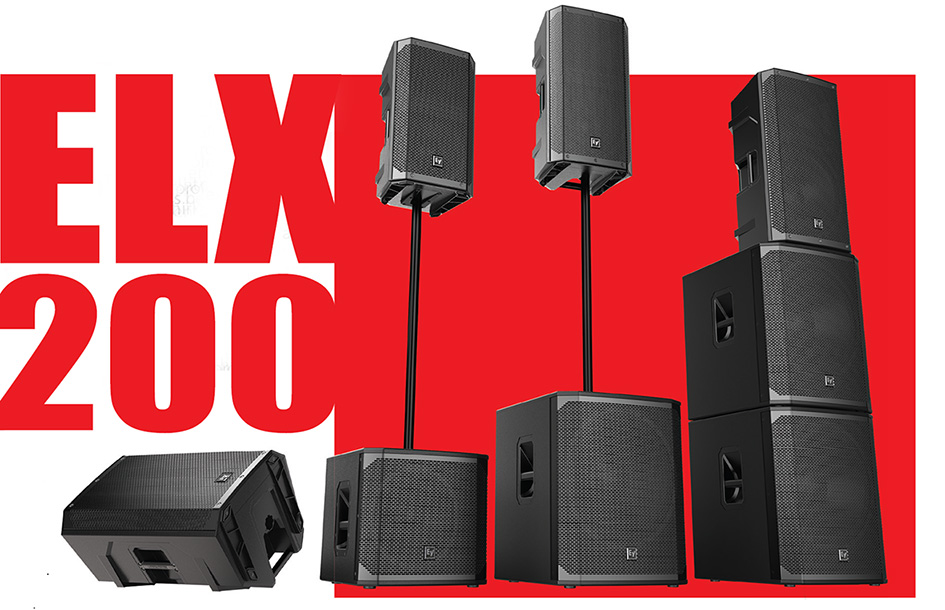 ELECTRO VOICE ELX200