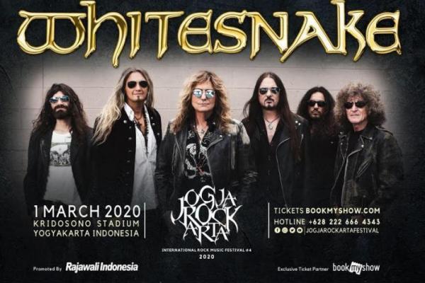 Scorpions dan Whitesnake Akan Tampil di JogjaROCKARTA 2020