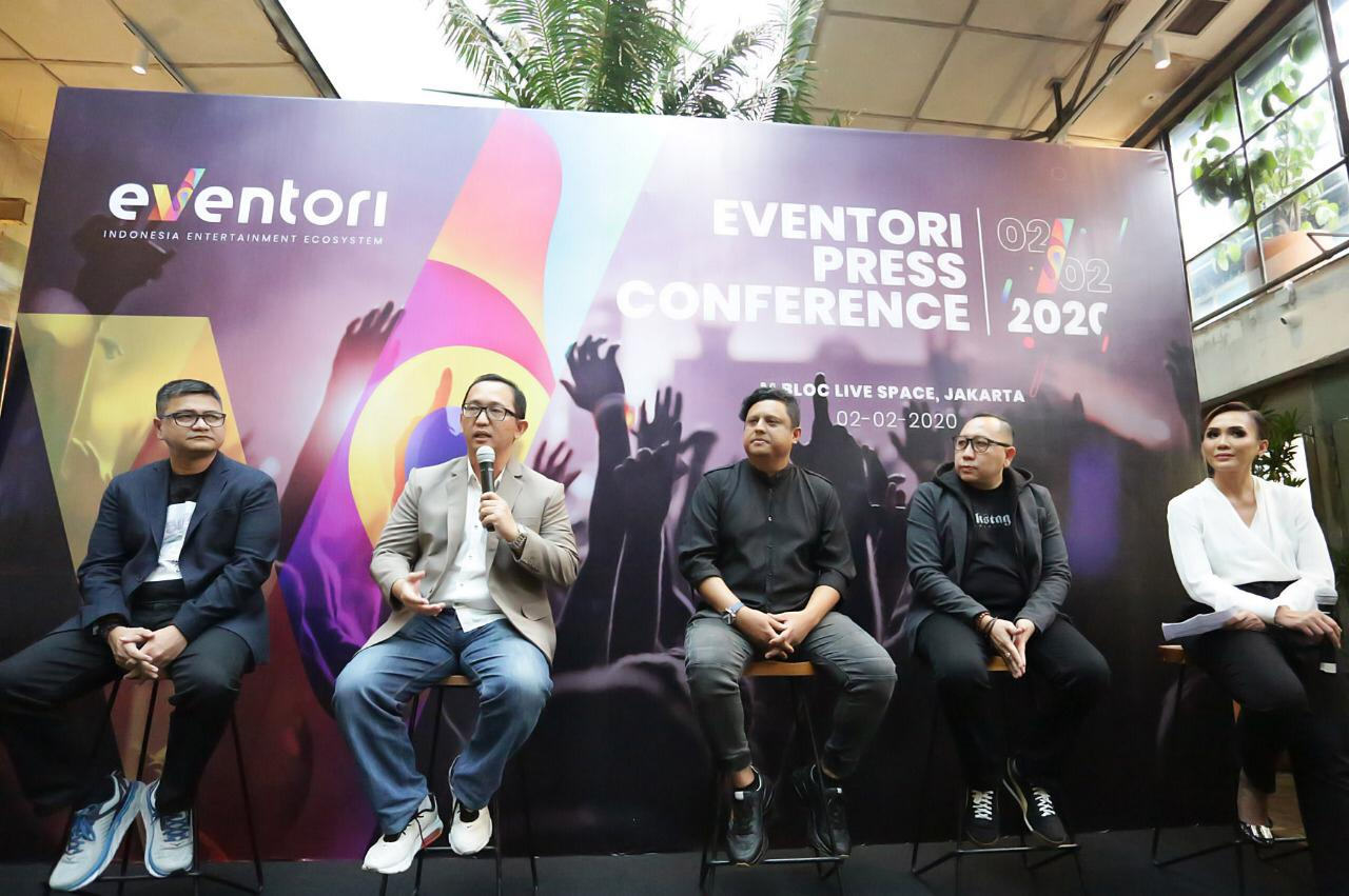 Eventori, Platform Kolaborasi Pelaku Industri Hiburan