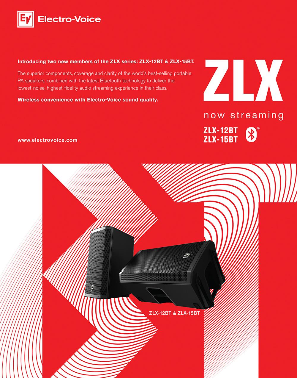 Electro-Voice ZLX BT