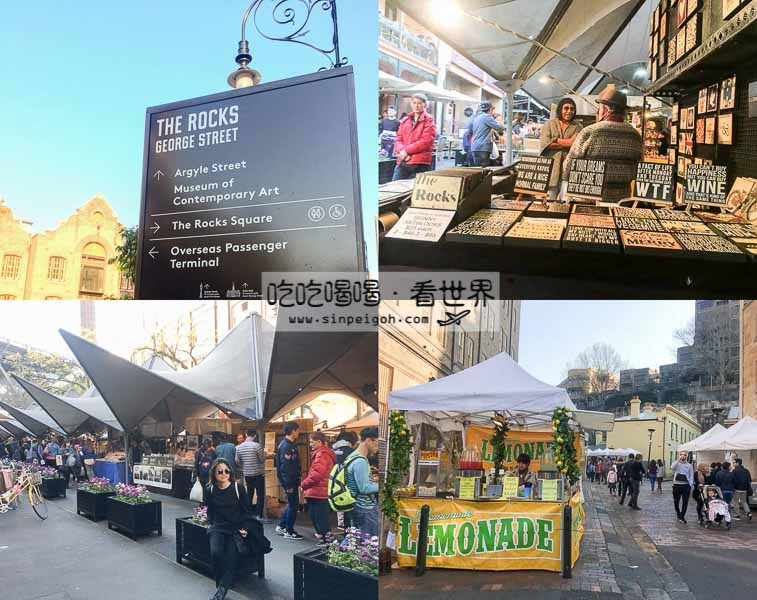 the rocks market sydney