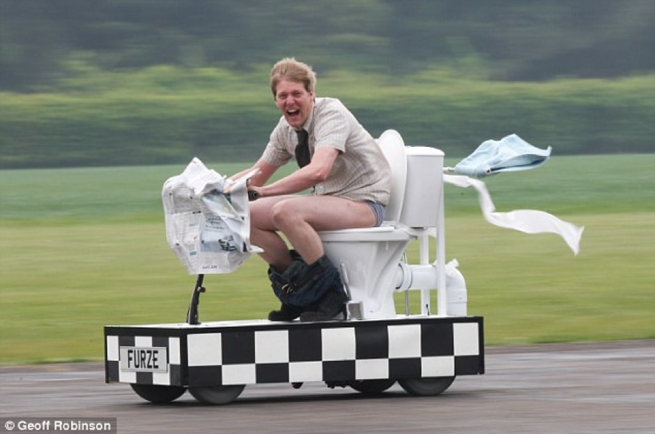 The Fastest (Portable) Toilet in the World. Yes, It's a Thing.
