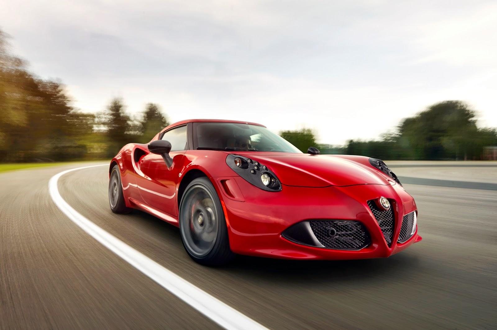 Experience the Alfa Romeo 4C