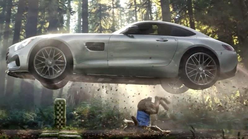 Mercedes Beaten By Tortoise