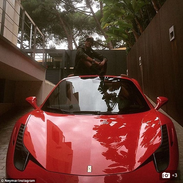 neymar's cars will have you regretting your life decisions