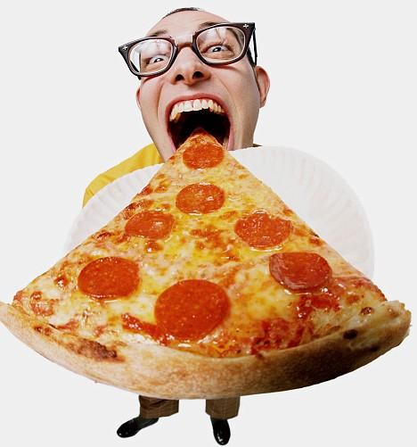 Прикольный картинка пицца, поздравление