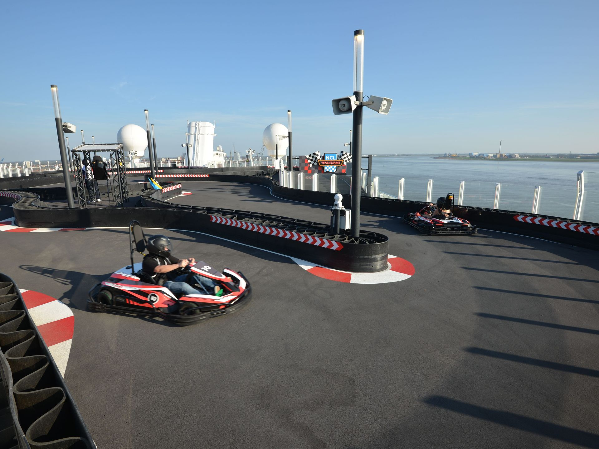Racing on Water: This Cruise Ship Has a 1,000FT Go-Kart ...