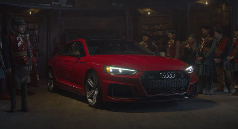 VIDEO: Audi introduces a New Type of Santa…and He's Got a New Sleigh Too