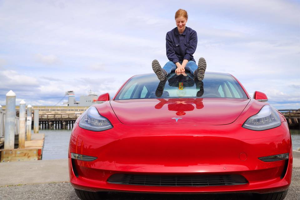 VIDEO: Behold, the Truckla! Youtuber Converts a Tesla Into a Pickup