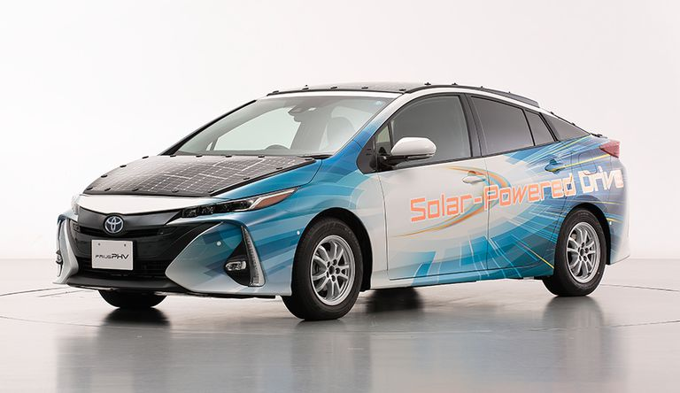 Let This Trial Solar-Powered Toyota Prius Come True