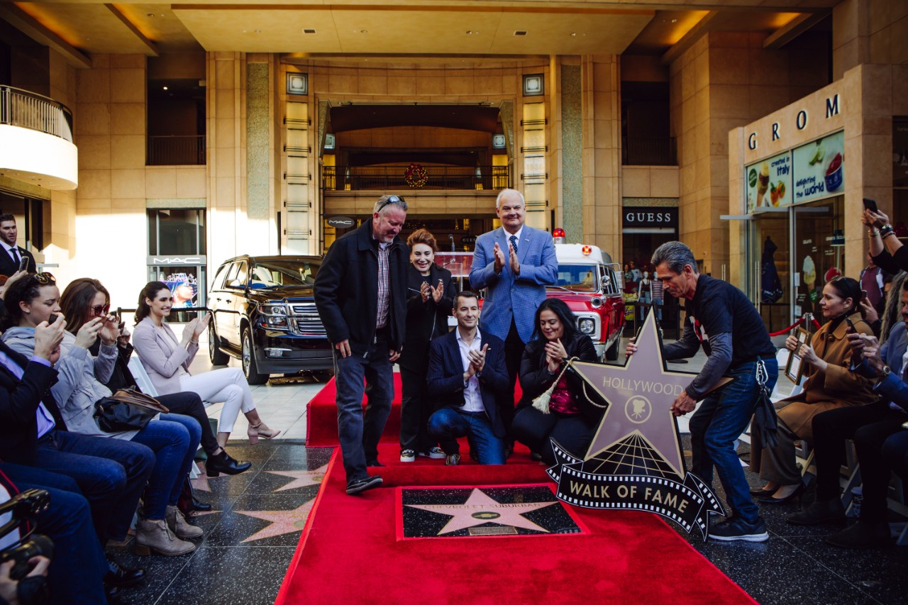 A Car Has Been Given A Star on the Hollywood Walk of Fame