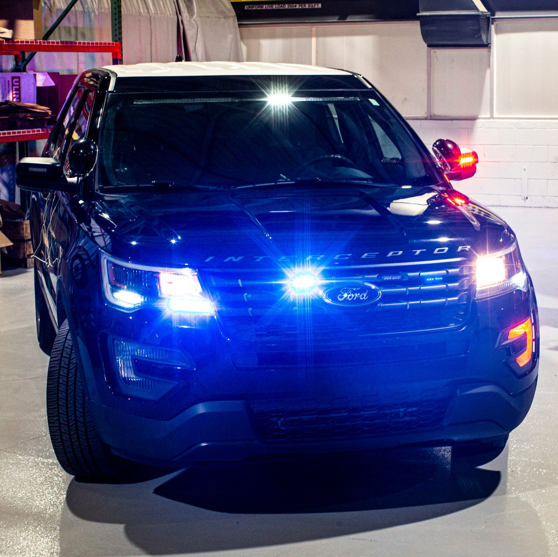 Ford is Sanitizing New York Police SUVs With Software Update