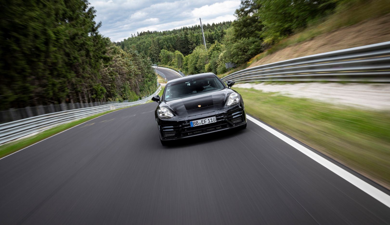 WATCH: The Porsche Panamera Beat the Mercedes-AMG GT 63 As The Fastest Executive Car on the 'Ring