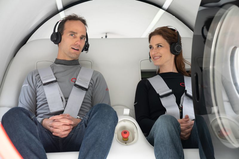 Virgin Hyperloop Completes First Test with Passengers. This Could Be How We Get Around In the Future.
