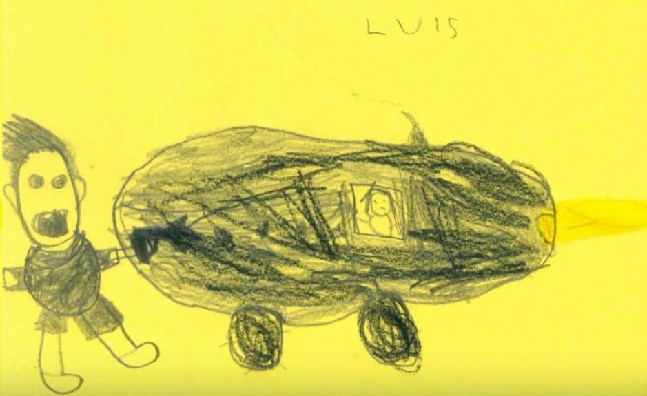 Six-Year-Olds Draw Rogue Driver for German Police