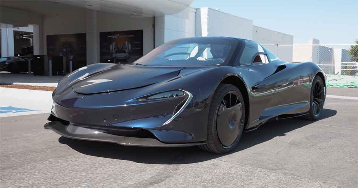 WATCH: Owner Introduces His Brand New McLaren Speedtail Hermes Edition