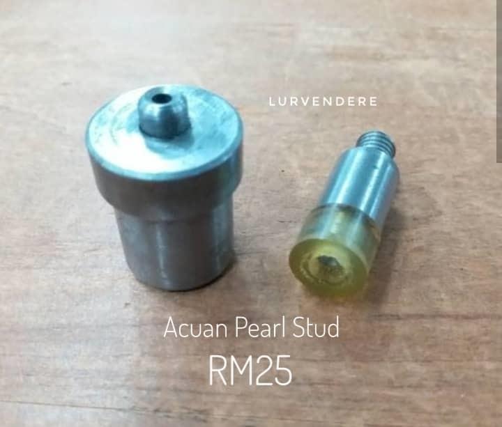 Pear Stud Mould ( acuan )