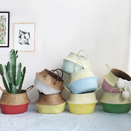 Pastel Rice Basket