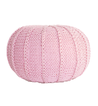 Ottoman Stool Braided 50x30cm Assorted Colors