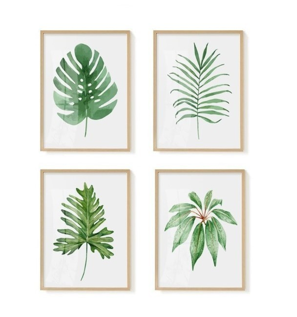Natural Leave Wall Art Frame