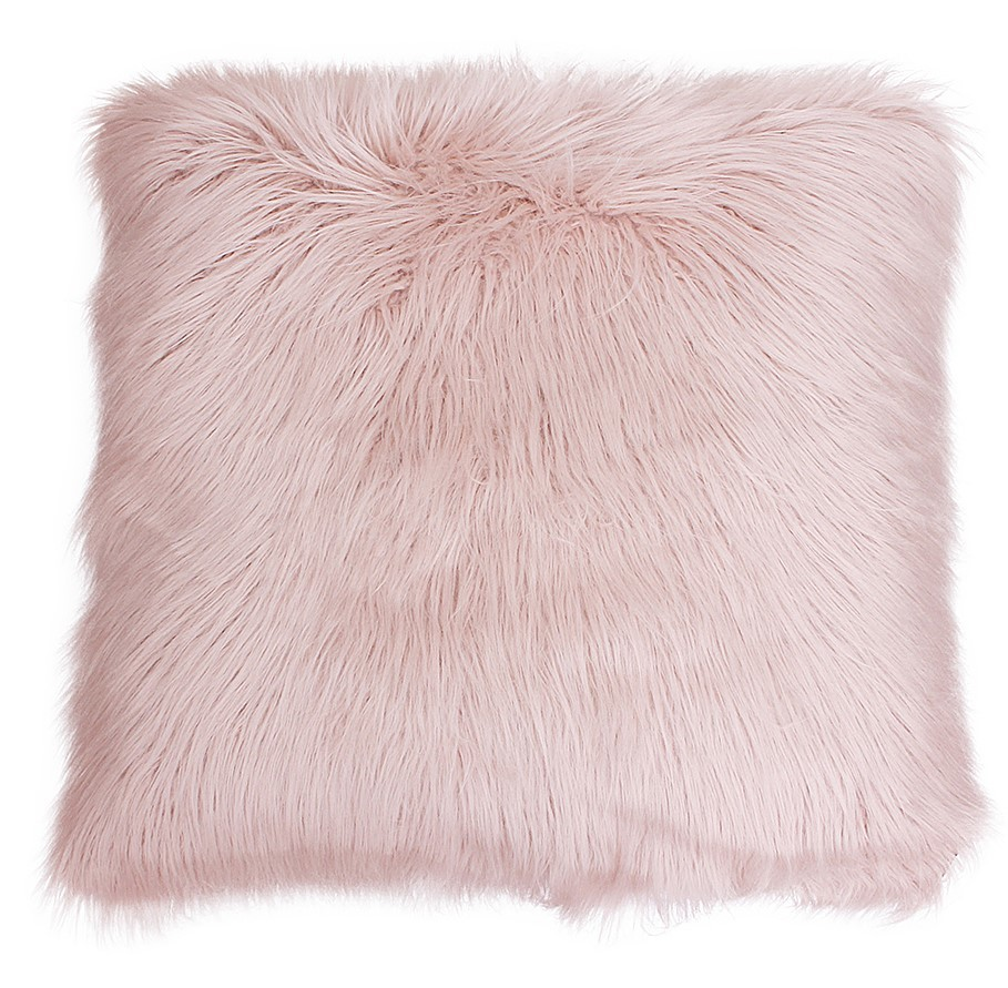 Furry Soft Cushion Multicolored
