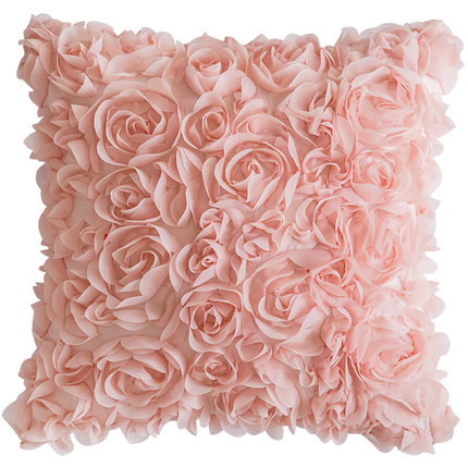 Flower Rose Petals 3D Cushion 40x40cm (Pre Order)