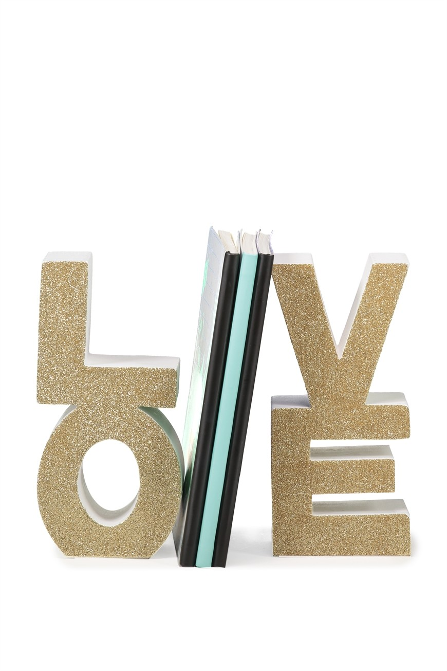 LOVE Book Ends