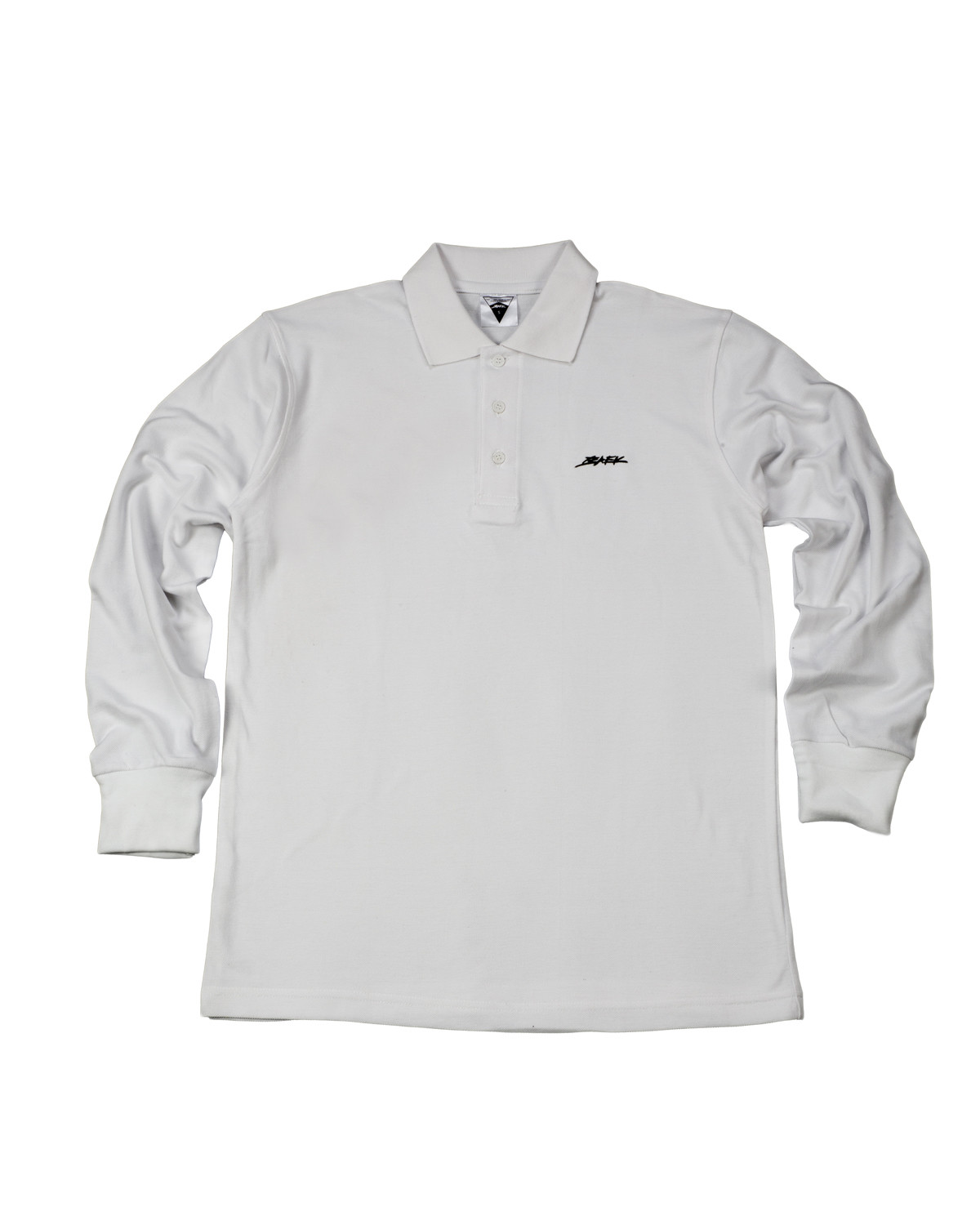 BAEK POLO L/S - WHITE