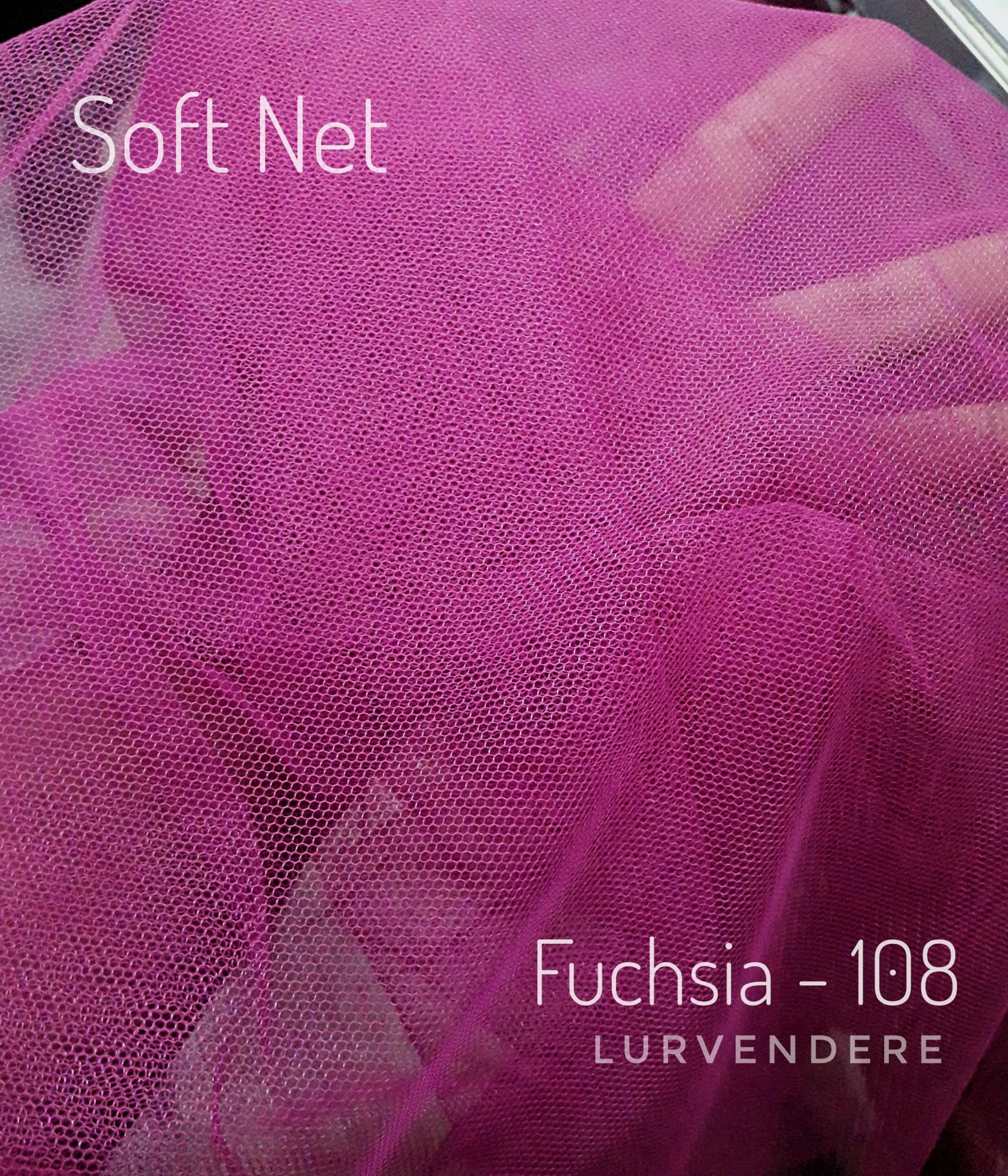 Soft Net - Fuchsia ( 108 )