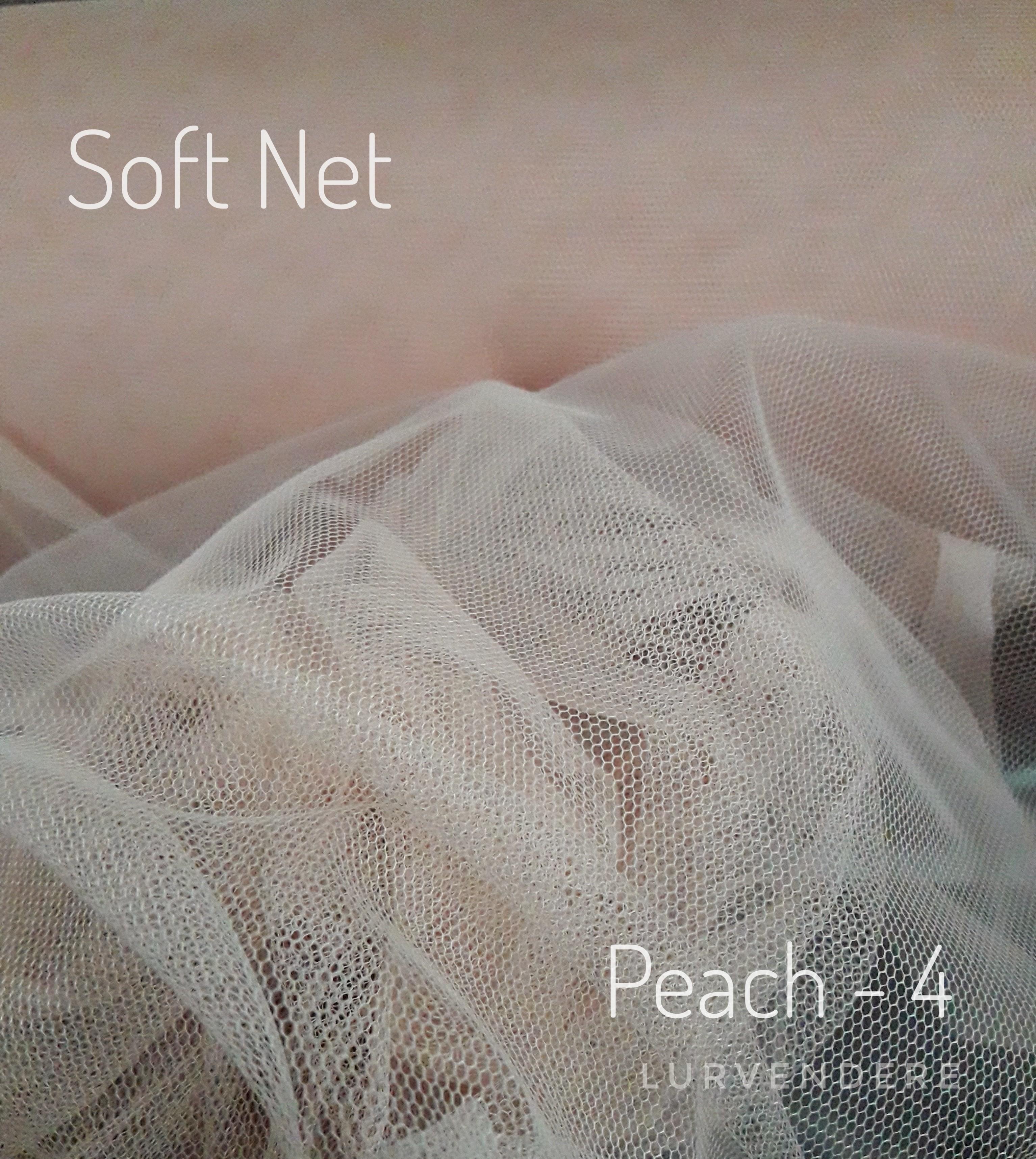 Soft Net - Peach ( 4 )