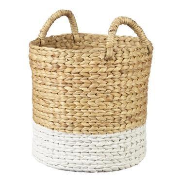 Living Space Matilda Round Basket Natural - MEDIUM