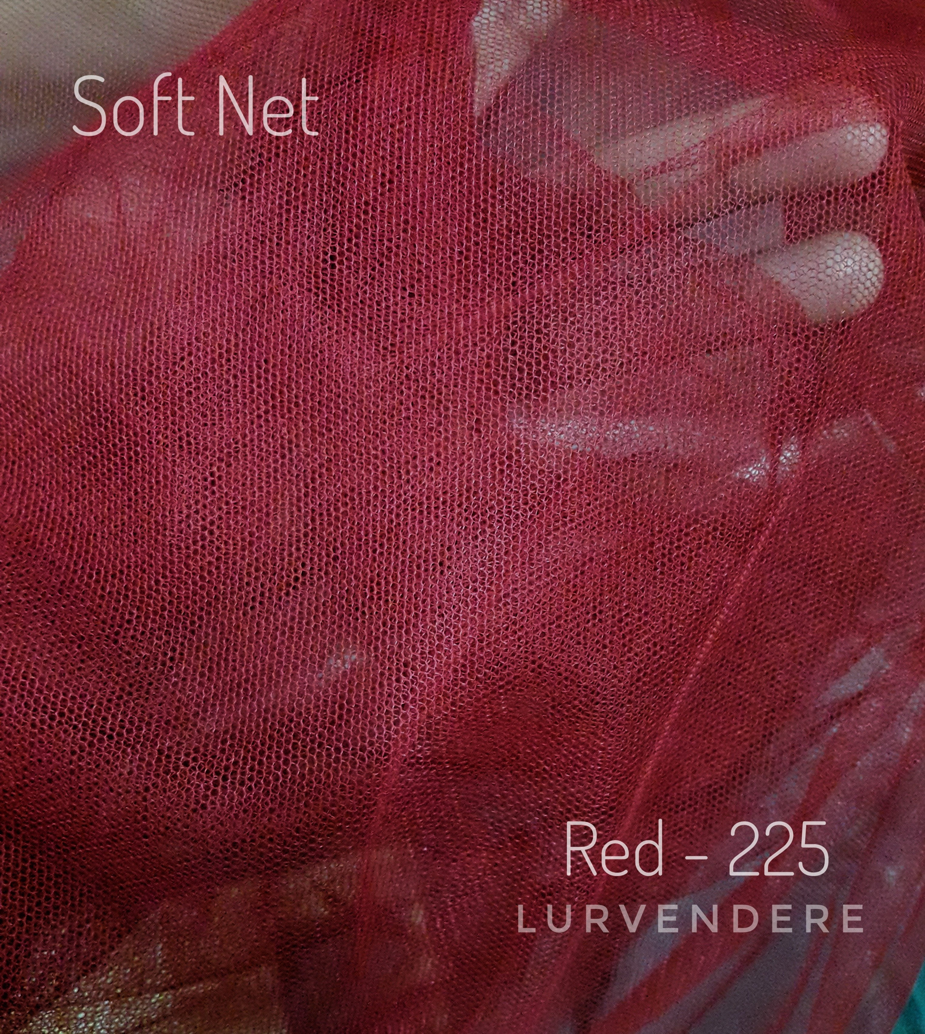 Soft Net - Red ( 225 )