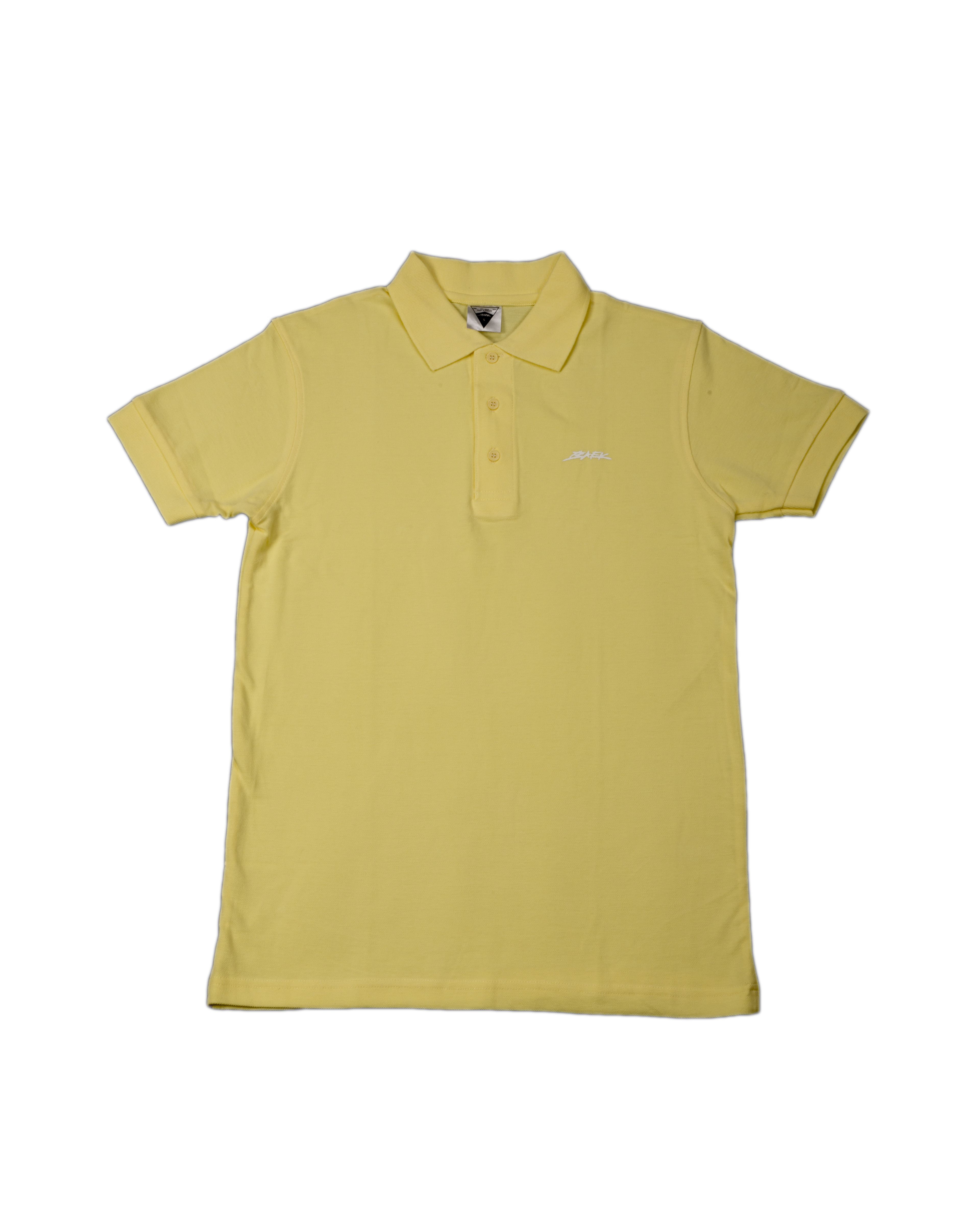 BAEK POLO SS - YELLOW