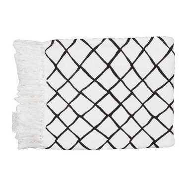 Ombre Home Diamond Throw