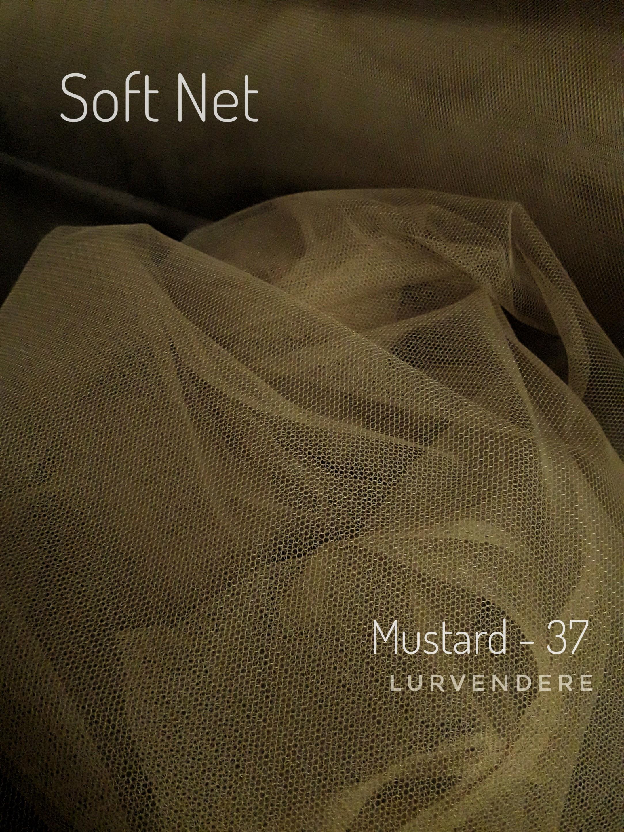 Soft Net - Mustard ( 37 )