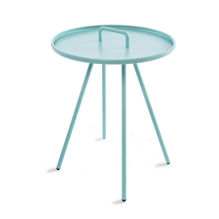 Metal Side Table Multicolored