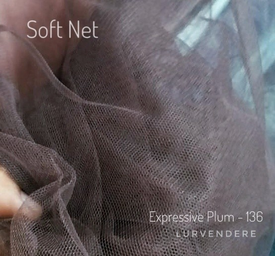 Soft Net - Expressive Plum ( 136 )