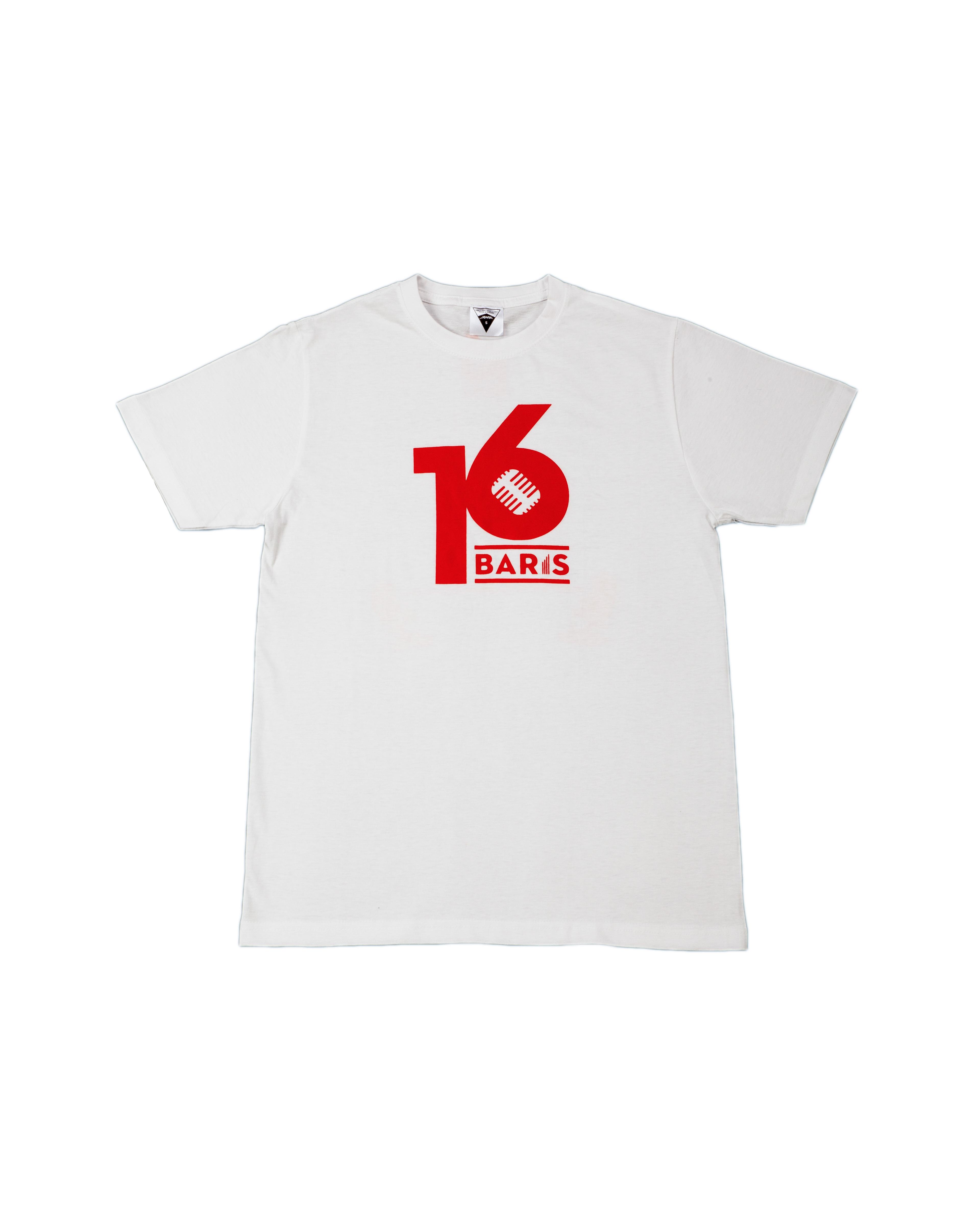 16 BARIS TEE - WHITE