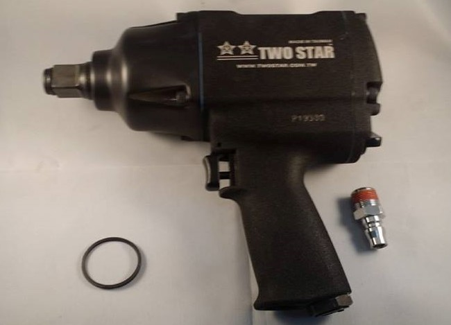 "Two Star 3/4"" Heavy Duty Powerful Impact Wrench"