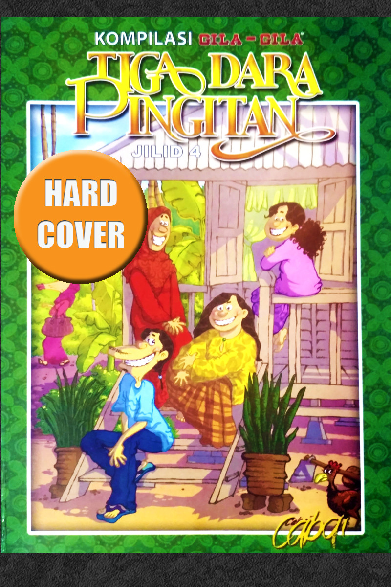 TIGA DARA PINGITAN - JILID 4 (HARD COVER)