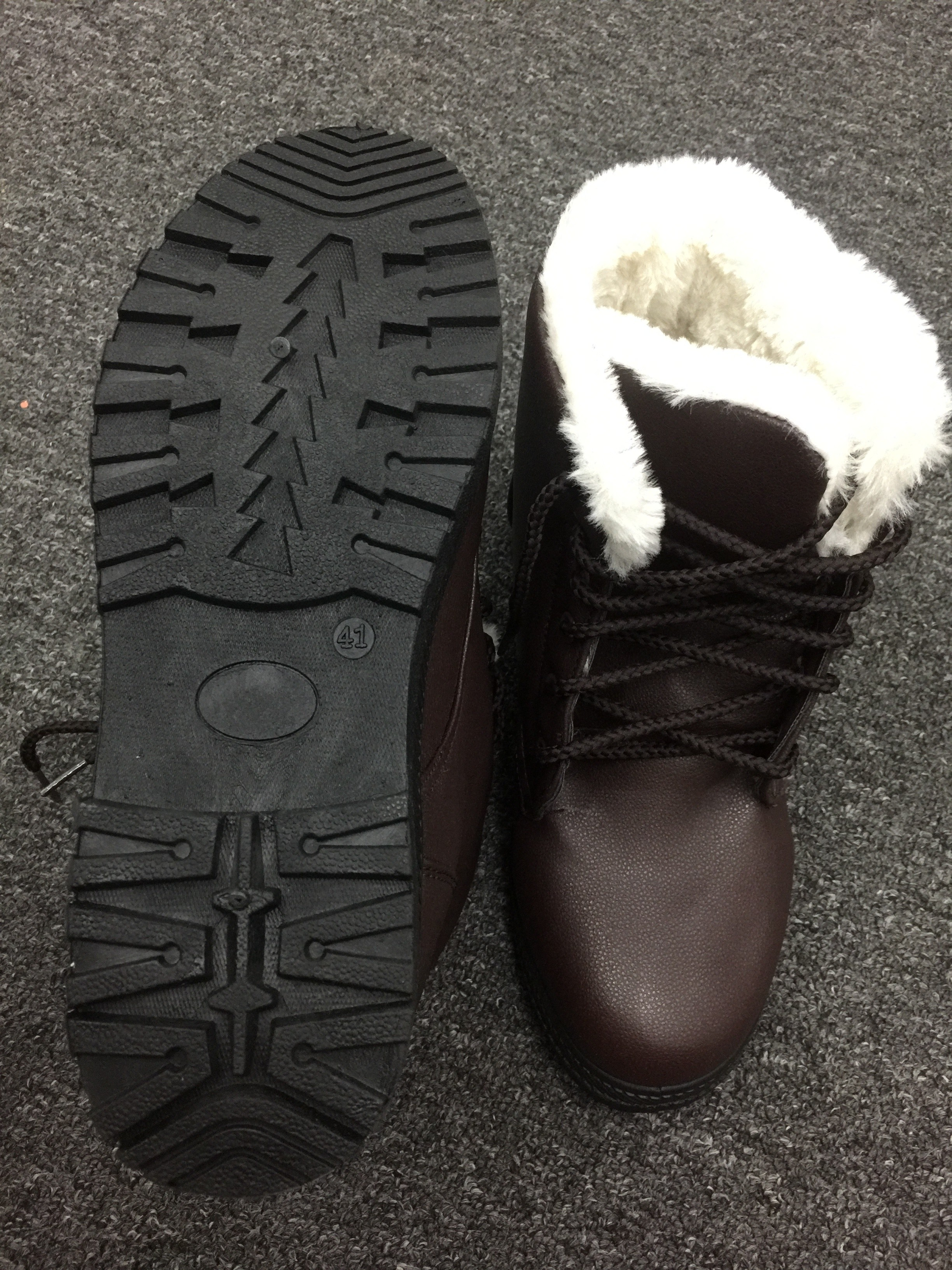 Winterboot String PU Leather