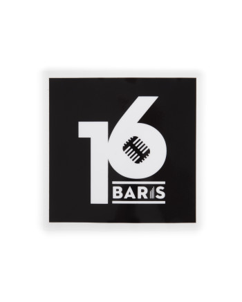 16 BARIS CAR STICKER - BLACK