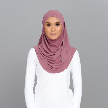 Lisaa Instant Moss Crepe Dusty Pink