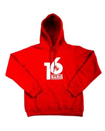 16 BARIS HOODIE - RED