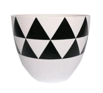 Triangle Flower Pot Multicolored