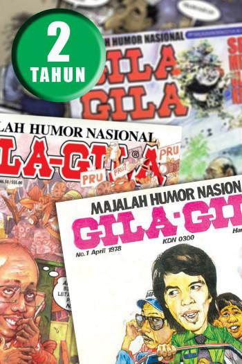 LANGGANAN MAJALAH GILA-GILA - 2 TAHUN (PASARAN MALAYSIA SAHAJA)