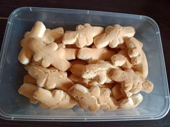 KUEH BANGKIT (COCONET MILK COOKIES) 椰奶曲奇饼
